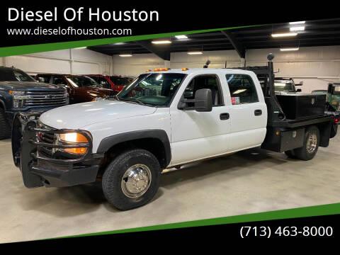 2006 GMC Sierra 3500 for sale at Diesel Of Houston in Houston TX