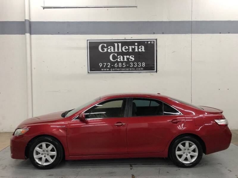 2010 Toyota Camry Hybrid for sale at Galleria Cars in Dallas TX
