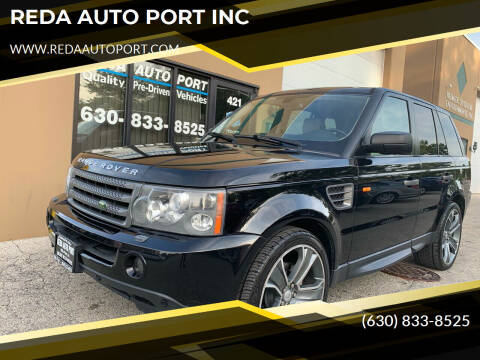2008 Land Rover Range Rover Sport for sale at REDA AUTO PORT INC in Villa Park IL