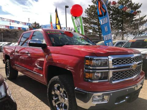 2014 Chevrolet Silverado 1500 for sale at Duke City Auto LLC in Gallup NM
