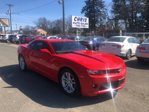2015 Chevrolet Camaro for sale at Chris Auto Sales in Springfield MA
