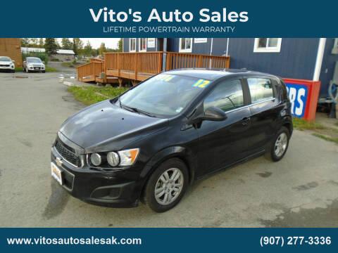 2012 Chevrolet Sonic for sale at Vito's Auto Sales in Anchorage AK
