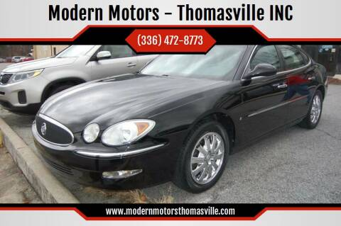 2007 Buick LaCrosse for sale at Modern Motors - Thomasville INC in Thomasville NC