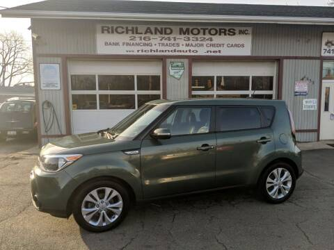 2014 Kia Soul for sale at Richland Motors in Cleveland OH