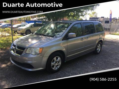 2013 Dodge Grand Caravan for sale at Duarte Automotive in Jacksonville FL