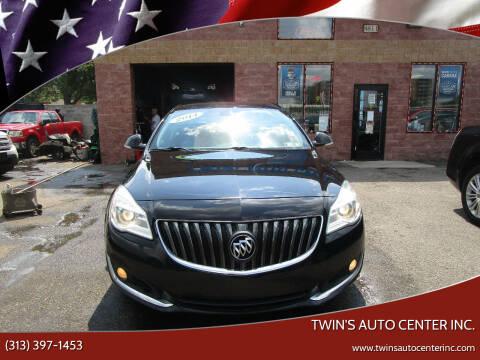 2014 Buick Regal for sale at Twin's Auto Center Inc. in Detroit MI