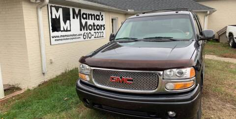 2003 GMC Yukon XL for sale at Mama's Motors in Greer SC