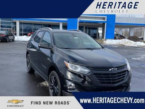 2021 Chevrolet Equinox for sale at HERITAGE CHEVROLET INC in Creek MI