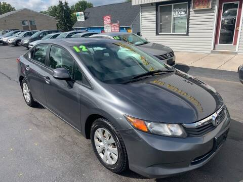 2012 Honda Civic for sale at OZ BROTHERS AUTO in Webster NY