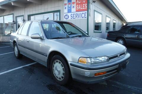 1992 Honda Accord for sale at 777 Auto Sales and Service in Tacoma WA