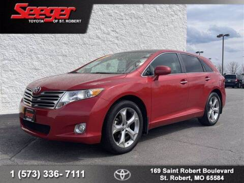 2010 Toyota Venza for sale at SEEGER TOYOTA OF ST ROBERT in St Robert MO