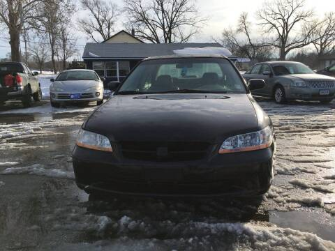 1998 Honda Accord for sale at Rocket Cars Auto Sales LLC in Des Moines IA