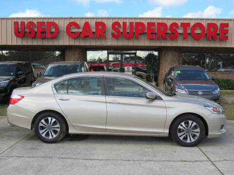 2014 Honda Accord for sale at Checkered Flag Auto Sales NORTH in Lakeland FL
