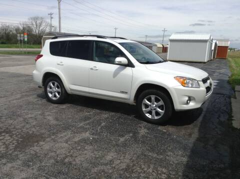 2012 Toyota RAV4 for sale at Kevin's Motor Sales in Montpelier OH