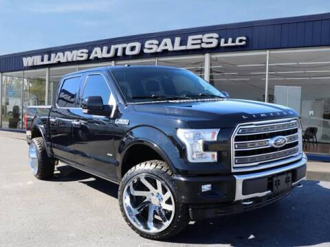 2017 Ford F-150 for sale at Williams Auto Sales, LLC in Cookeville TN