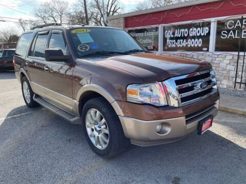 2011 Ford Expedition for sale at GOL Auto Group in Austin TX