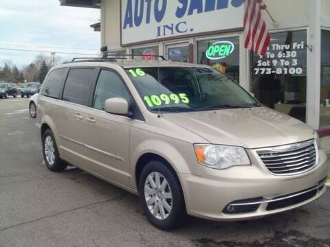 2016 Chrysler Town and Country for sale at G & L Auto Sales Inc in Roseville MI