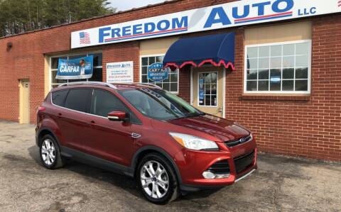 2016 Ford Escape for sale at FREEDOM AUTO LLC in Wilkesboro NC