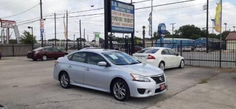 2013 Nissan Sentra for sale at S.A. BROADWAY MOTORS INC in San Antonio TX