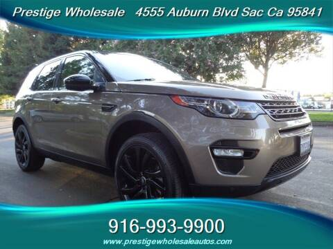 2016 Land Rover Discovery Sport for sale at Prestige Wholesale in Sacramento CA