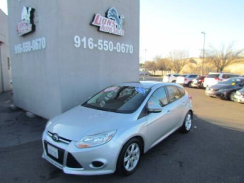 2014 Ford Focus for sale at LIONS AUTO SALES in Sacramento CA