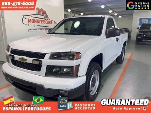 2012 Chevrolet Colorado for sale at Monster Cars in Pompano Beach FL