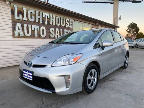 2012 Toyota Prius for sale at Lighthouse Auto Sales LLC in Grand Junction CO