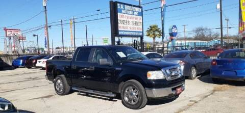 2007 Ford F-150 for sale at S.A. BROADWAY MOTORS INC in San Antonio TX