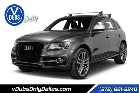 2015 Audi SQ5 for sale at VDUBS ONLY in Dallas TX