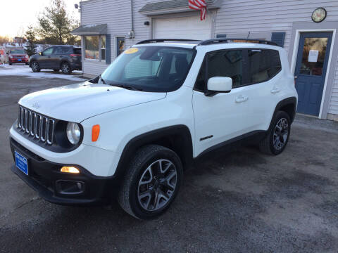 2017 Jeep Renegade for sale at CLARKS AUTO SALES INC in Houlton ME