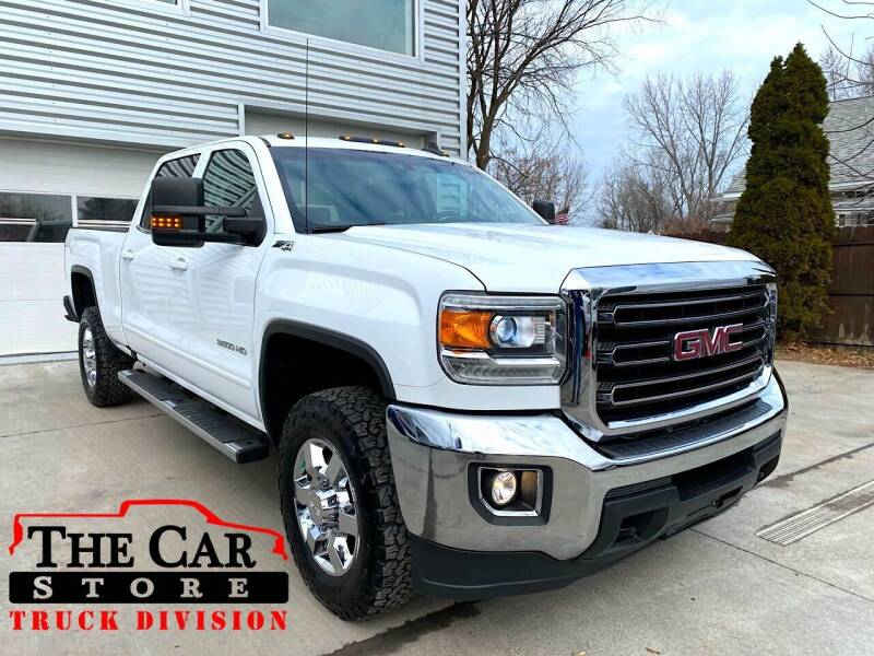 2017 GMC Sierra 3500HD for sale at The Car Store Inc in Albany NY