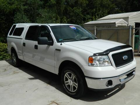 2006 Ford F-150 for sale at Jeff's Auto Sales & Service in Port Charlotte FL