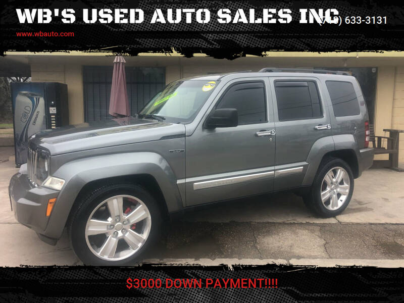 2012 Jeep Liberty for sale at WB'S USED AUTO SALES INC in Houston TX