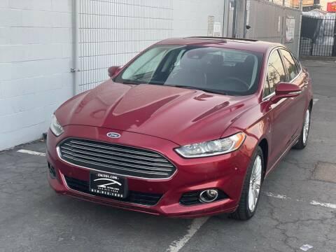 2013 Ford Fusion Energi for sale at Z Auto in Sacramento CA