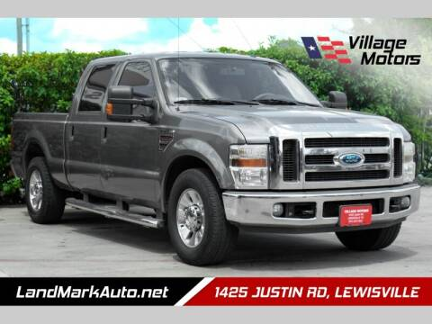 2009 Ford F-250 Super Duty for sale at Village Motors in Lewisville TX