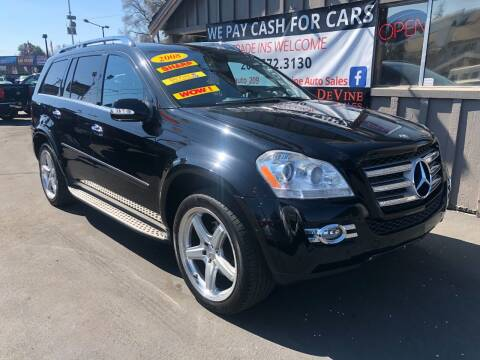 2008 Mercedes-Benz GL-Class for sale at Devine Auto Sales in Modesto CA