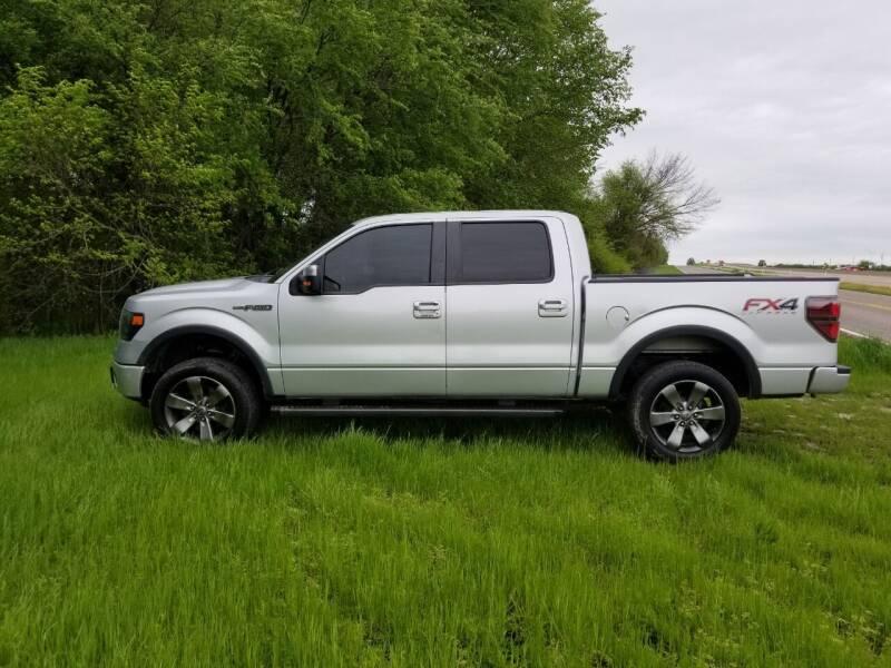 2013 Ford F-150 for sale at CAVENDER MOTORS in Van Alstyne TX