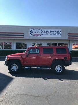 2008 HUMMER H3 for sale at Traditional Autos in Dallas TX