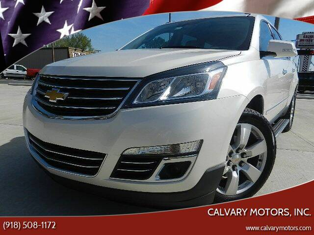 2015 Chevrolet Traverse for sale at Calvary Motors, Inc. in Bixby OK