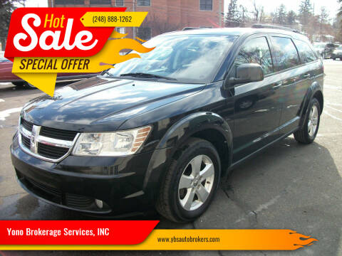 2010 Dodge Journey for sale at Yono Brokerage Services, INC in Farmington MI