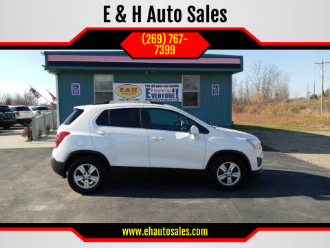 2016 Chevrolet Trax for sale at E & H Auto Sales in South Haven MI