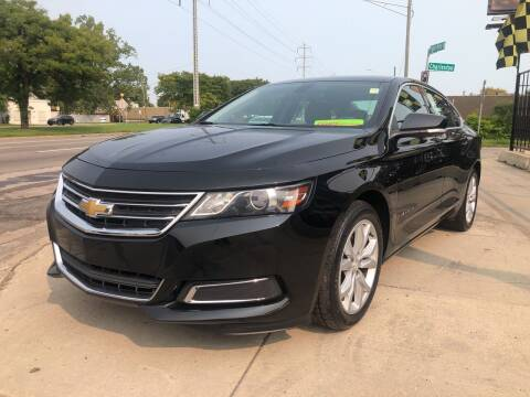 2017 Chevrolet Impala for sale at Champs Auto Sales in Detroit MI