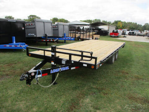 2022 Load Trail Equipment Deckover DK0220072 for sale at Rondo Truck & Trailer in Sycamore IL