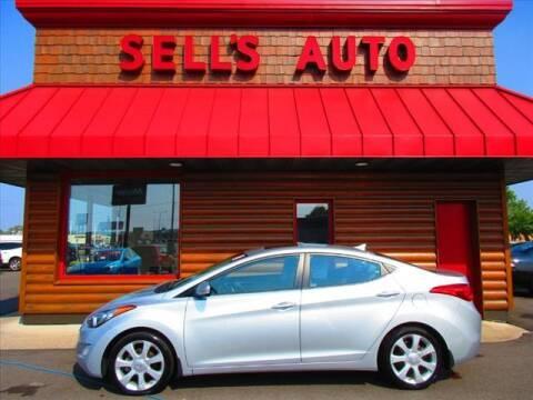 2013 Hyundai Elantra for sale at Sells Auto INC in Saint Cloud MN