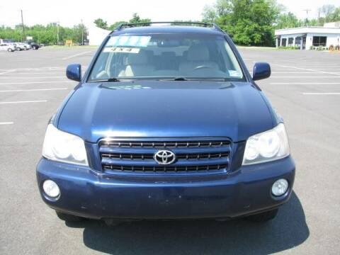 2003 Toyota Highlander for sale at Iron Horse Auto Sales in Sewell NJ