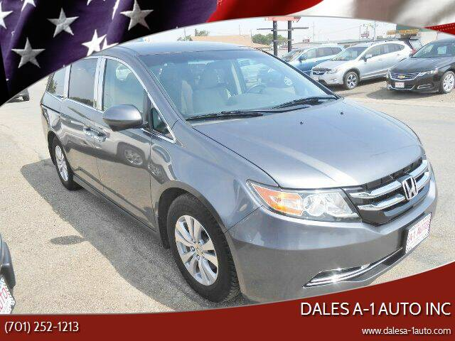 2016 Honda Odyssey for sale at Dales A-1 Auto Inc in Jamestown ND