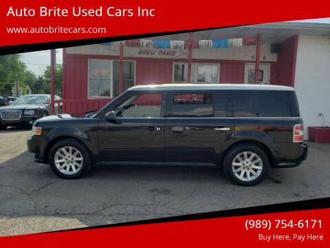 2011 Ford Flex for sale at Auto Brite Used Cars Inc in Saginaw MI