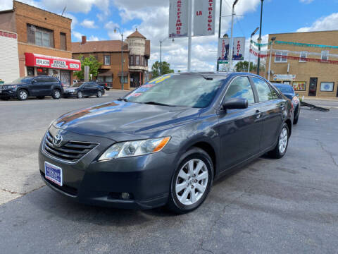2008 Toyota Camry for sale at Latino Motors in Aurora IL