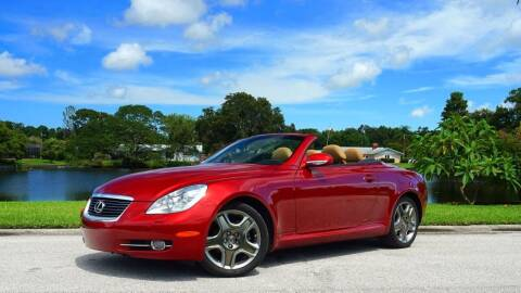 2006 Lexus SC 430 for sale at P J'S AUTO WORLD-CLASSICS in Clearwater FL