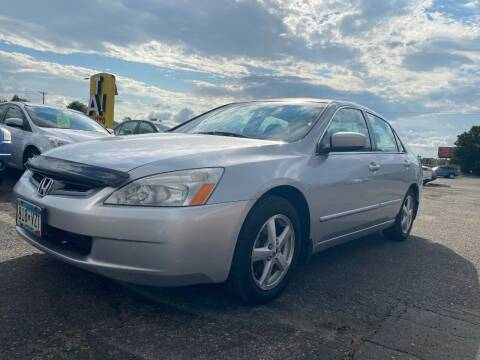 2003 Honda Accord for sale at Auto Tech Car Sales in Saint Paul MN